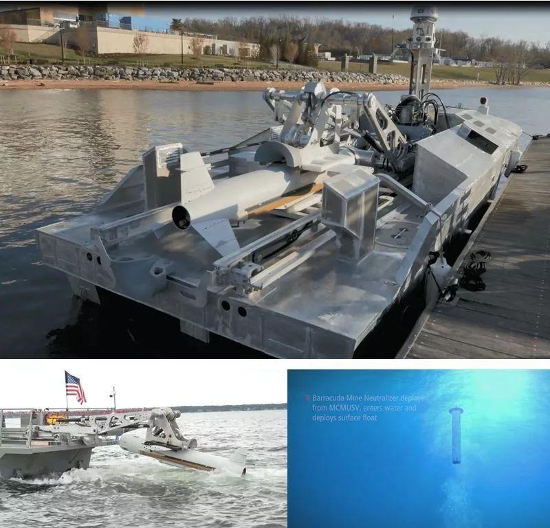 【動态】雷聲公司展示海軍無人掃雷技術