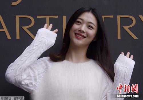 韩警方将对艺人雪莉进行尸检 书面结果几天后公布