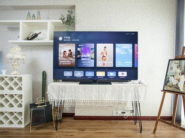 华为智慧屏V65体验:不谈鸿蒙OS,作为大屏它也足够惊艳_电视