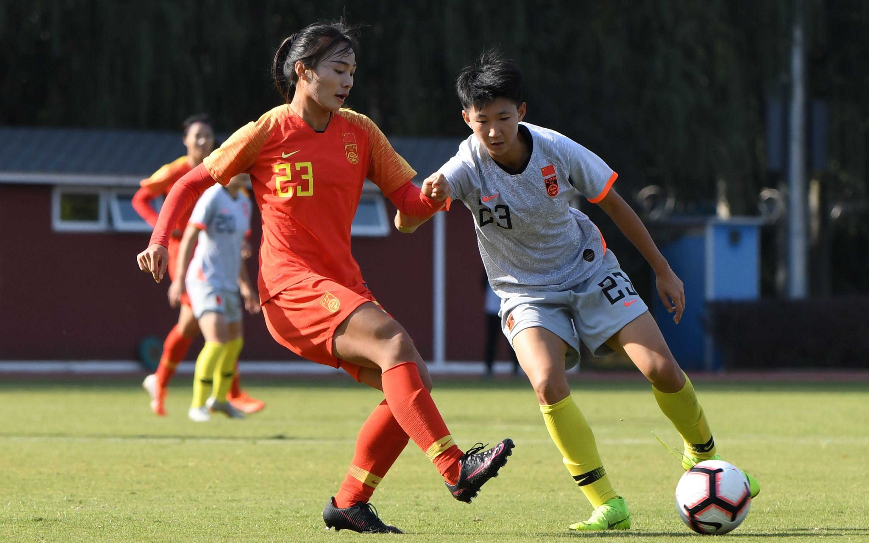 中国女足选拔集训6人落选,北控两将在列