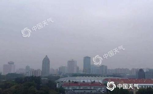 北京今日降雨體感陰冷 明后天陽光相伴氣溫回升明顯_零星小雨