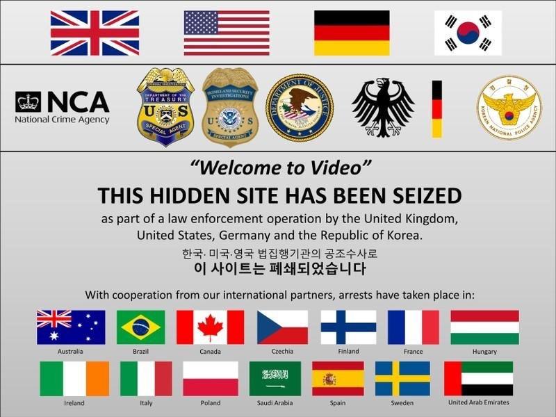 美司法部取缔一大型儿童色情网站,全球337人被捕