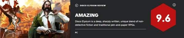 RPG《极乐迪斯科》IGN9.6分情节曲折,人物令人难忘