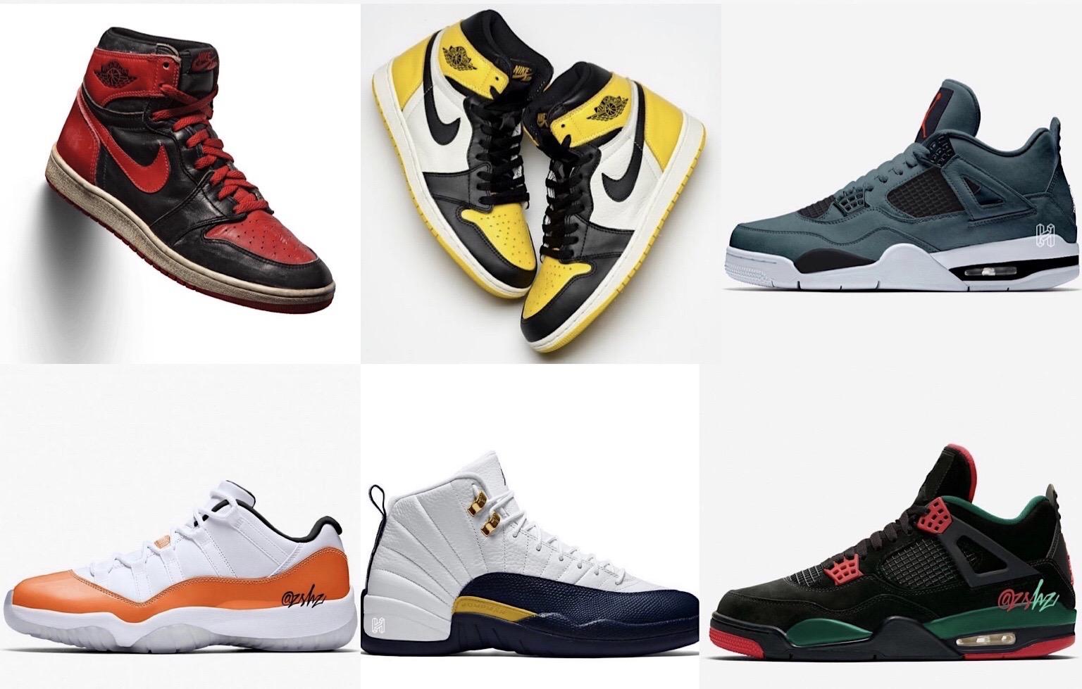 2020年Jordan大部队款式配色多到数不完!看完哪款你最爱?