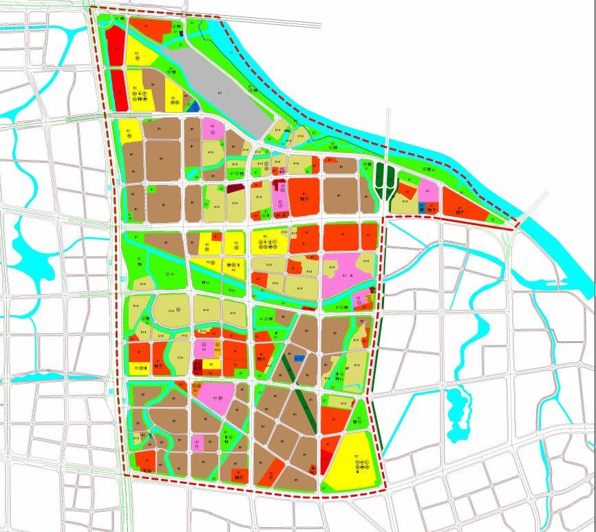 片区规划图