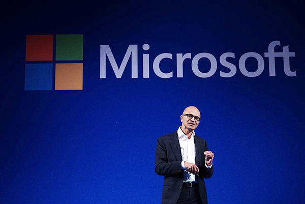 """微软给其首席执行官纳德拉涨薪66%,因其""""战略领导力"""""""