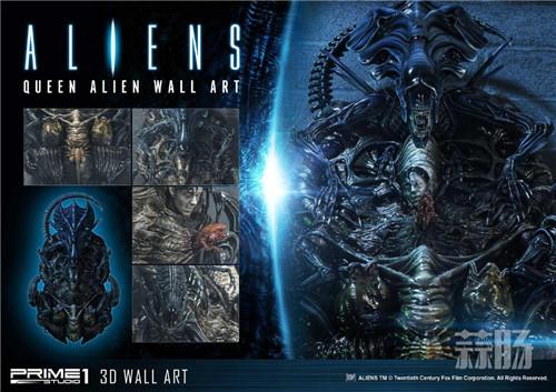 Prime1Studio公布异形女王3D墙上摆件
