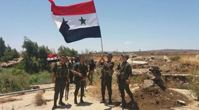 敘政府軍一路狂奔,搶在土耳其前拿下美軍基地,繳獲大量戰利品_軍隊