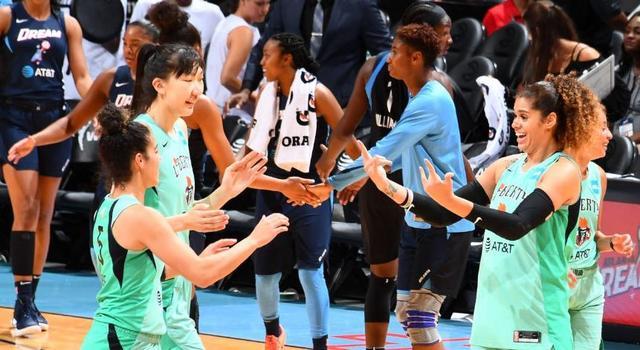 韓旭回歸,引進兩大國手加WNBA悍將,新疆女籃成廣東女籃衛冕強敵_聯賽
