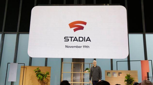 云游戏终于要来了!谷歌Stadia将于11月19日上线