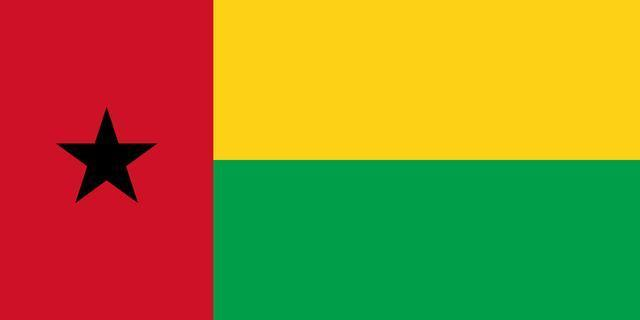 (几内亚比绍共和国国旗)