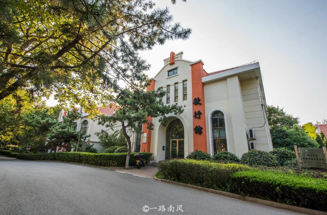 中国最美的大学,其中一座在山东青岛,景色不输北大清华!