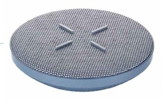 荣耀V30/Pro无线充电底座渲染图曝光:圆形+十字防滑设计