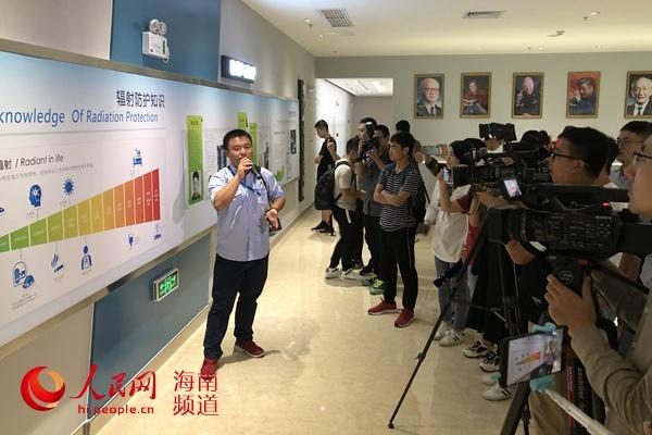 海南省第五届核安全文化媒体行走进昌江核电厂