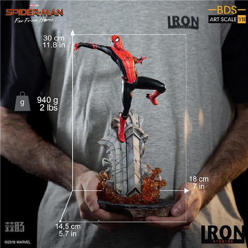 IronStudio《蜘蛛俠:英雄遠征》1:10蜘蛛俠雕像