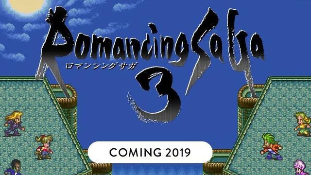 《浪漫沙加3:HD复刻版》预告片展示经典回合战斗