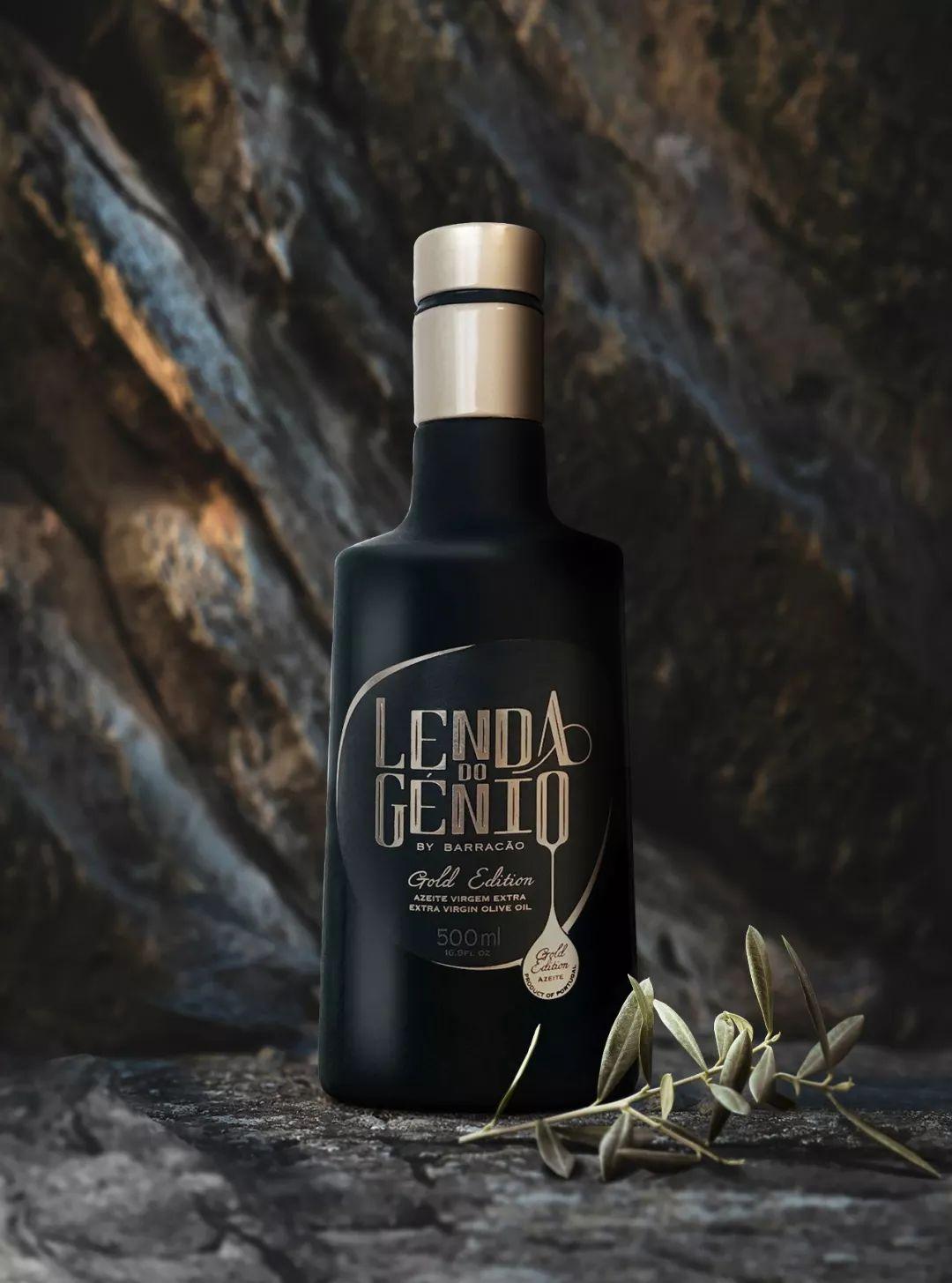 高冷橄榄油产品包装设计