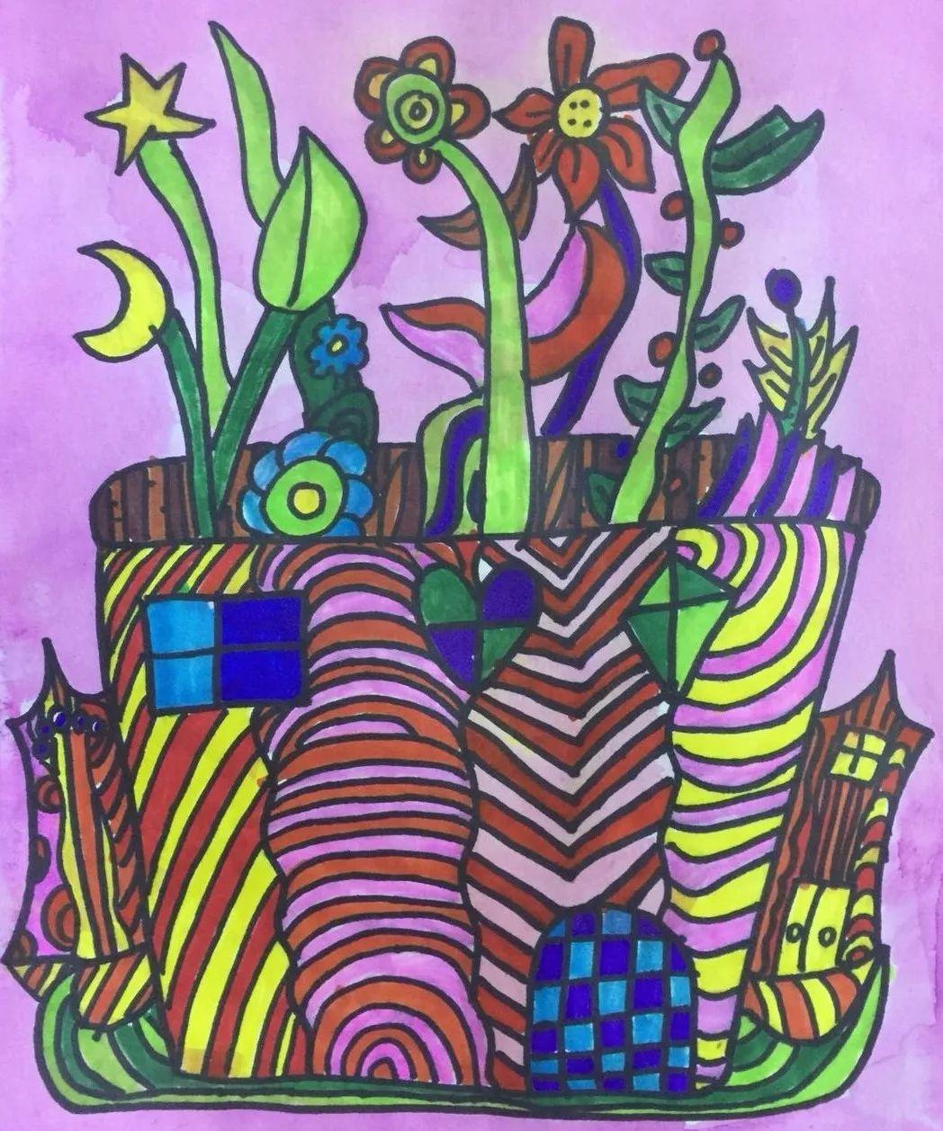 8岁小女孩学画画2年,变身小小美术老师,连不少大人都对她甘拜下风 妈妈是怎么培养的呢