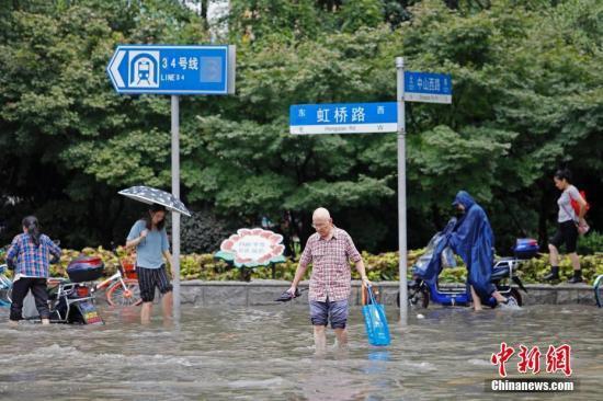 上海今夏降水量创历史最高纪录