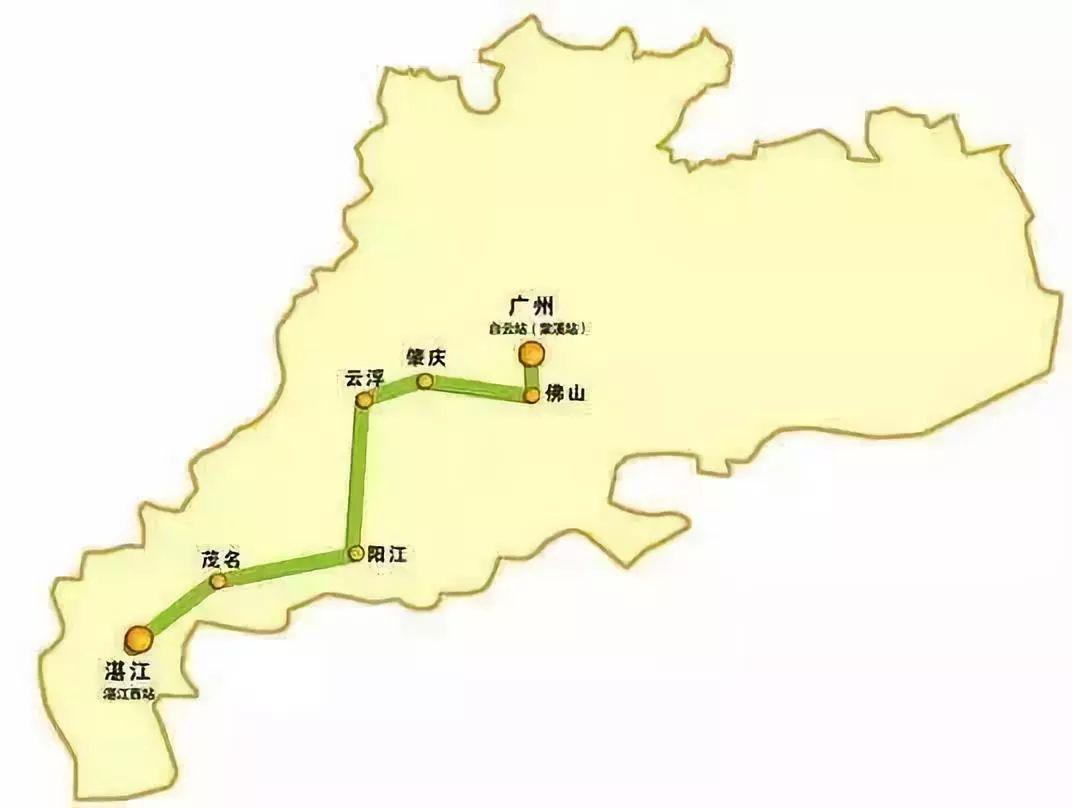 广湛高铁再爆新闻 离化州仅20分钟的国际机场站奇迹般再现
