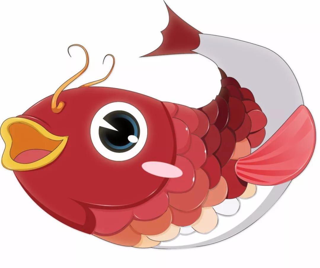 简笔画 小金鱼