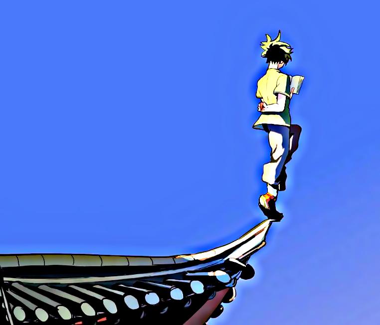 《英雄学院》第四季:中国风来袭,浓浓的武侠片既视感_动漫