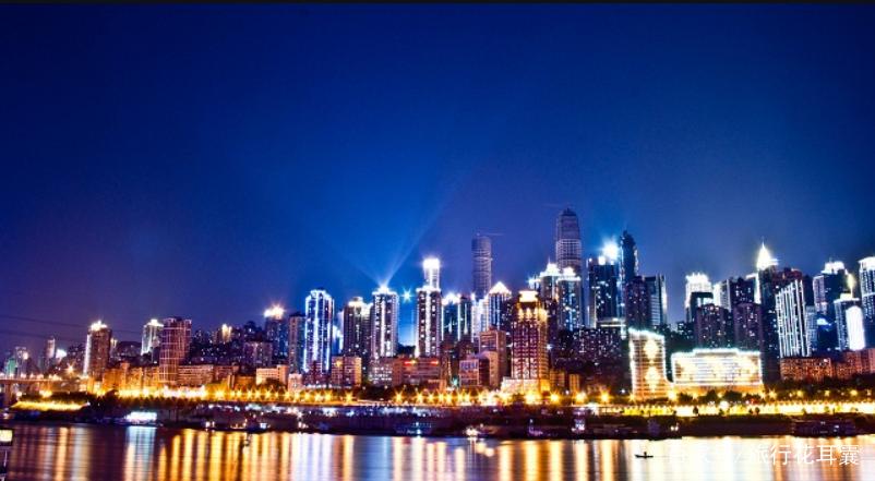 重庆夜景.