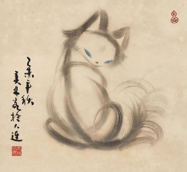 """韩美林先生的绘画,""""造型""""最有个性,画面更具有设计美感"""