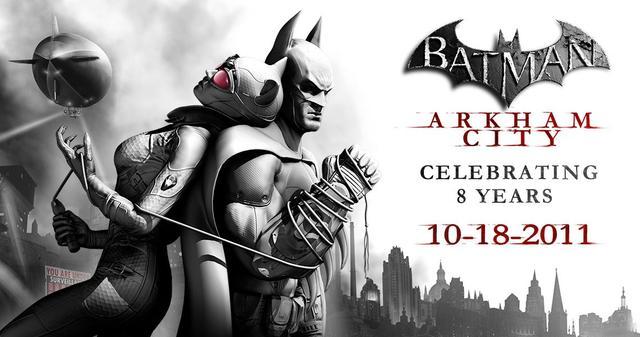 《蝙蝠侠:阿卡姆之城》发售8周年 感谢粉丝拯救这座城