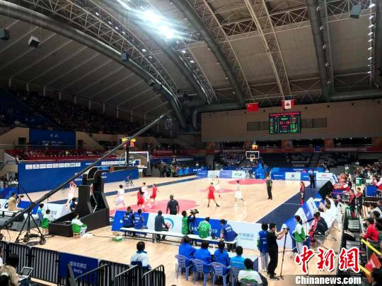 大胜82分!中国八一女篮军运会首战轻松取胜