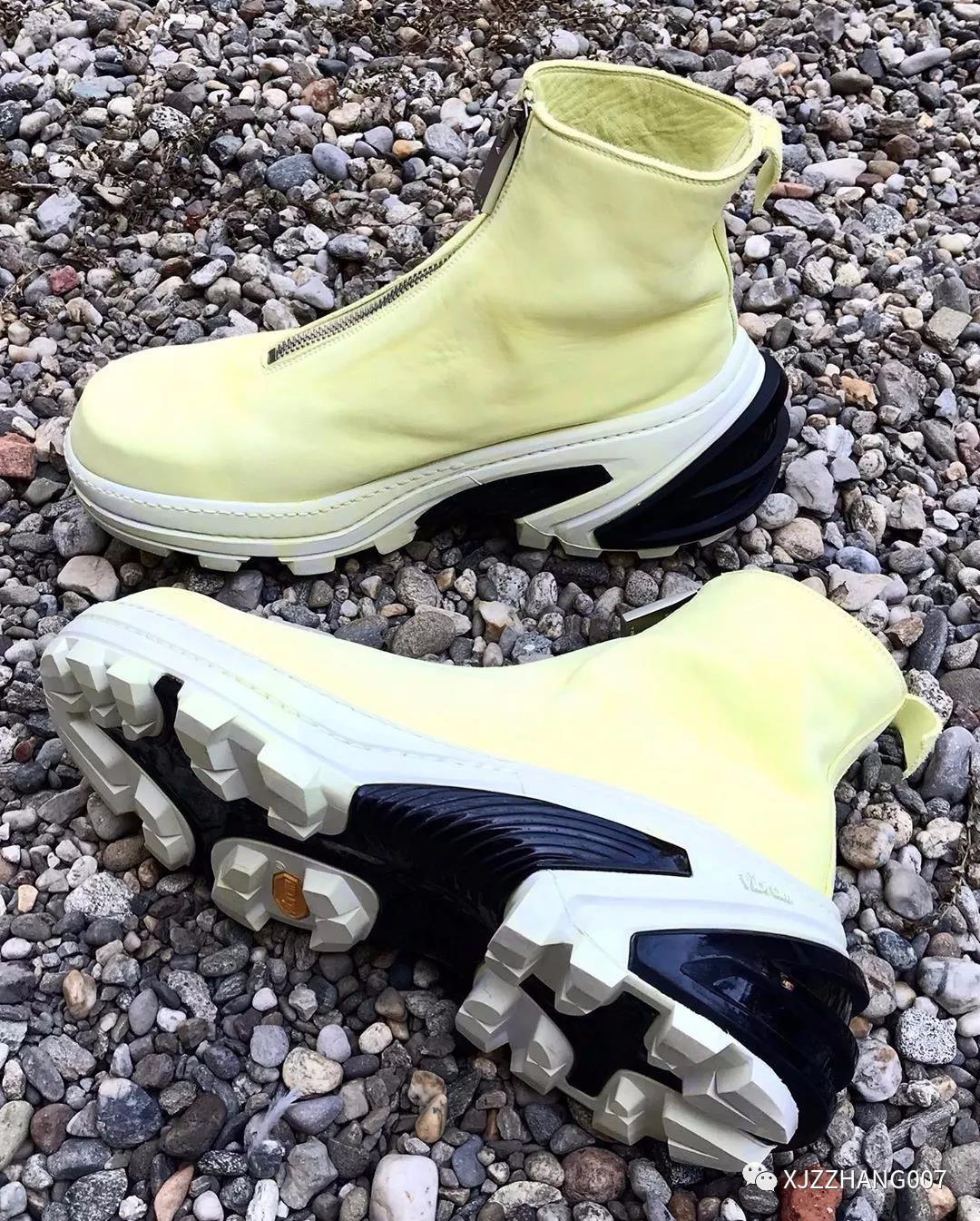 奢侈融入潮流元素! 1017 ALYX 9SM x GUIDI 联名鞋款释出