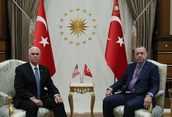 """埃尔多安:土耳其""""不会忘记""""特朗普""""无礼""""来"""