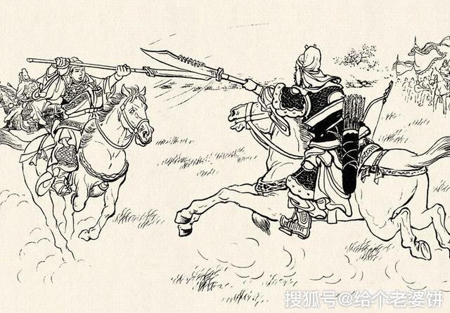 三国演义 樊城之战中庞德单挑打不赢小将军关平,为何还能单挑战胜大将关羽图片