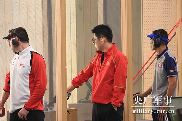首金!中国队获男子25米手枪军事速射团体冠军!