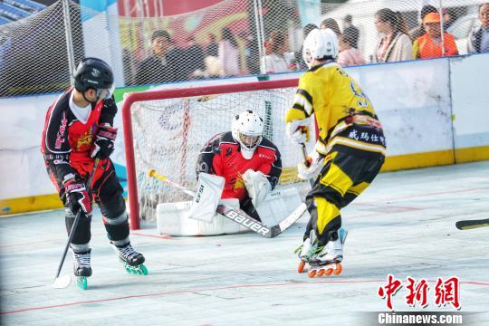 20余国轮滑选手陕西竞速助力冰雪项目发展