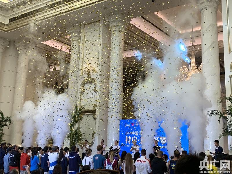 2019中国(厦门)特房·世界杯攀岩赛厦门站正式开赛