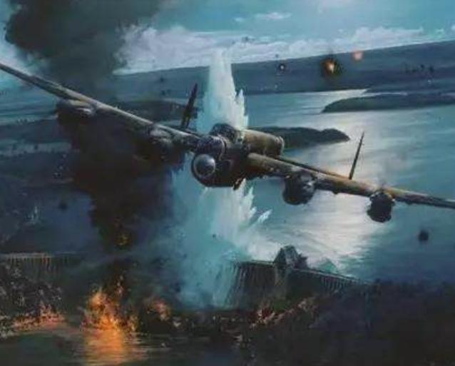 英国轰炸德国大坝,近4亿吨洪水淹死3万多人,工业区毁于一旦