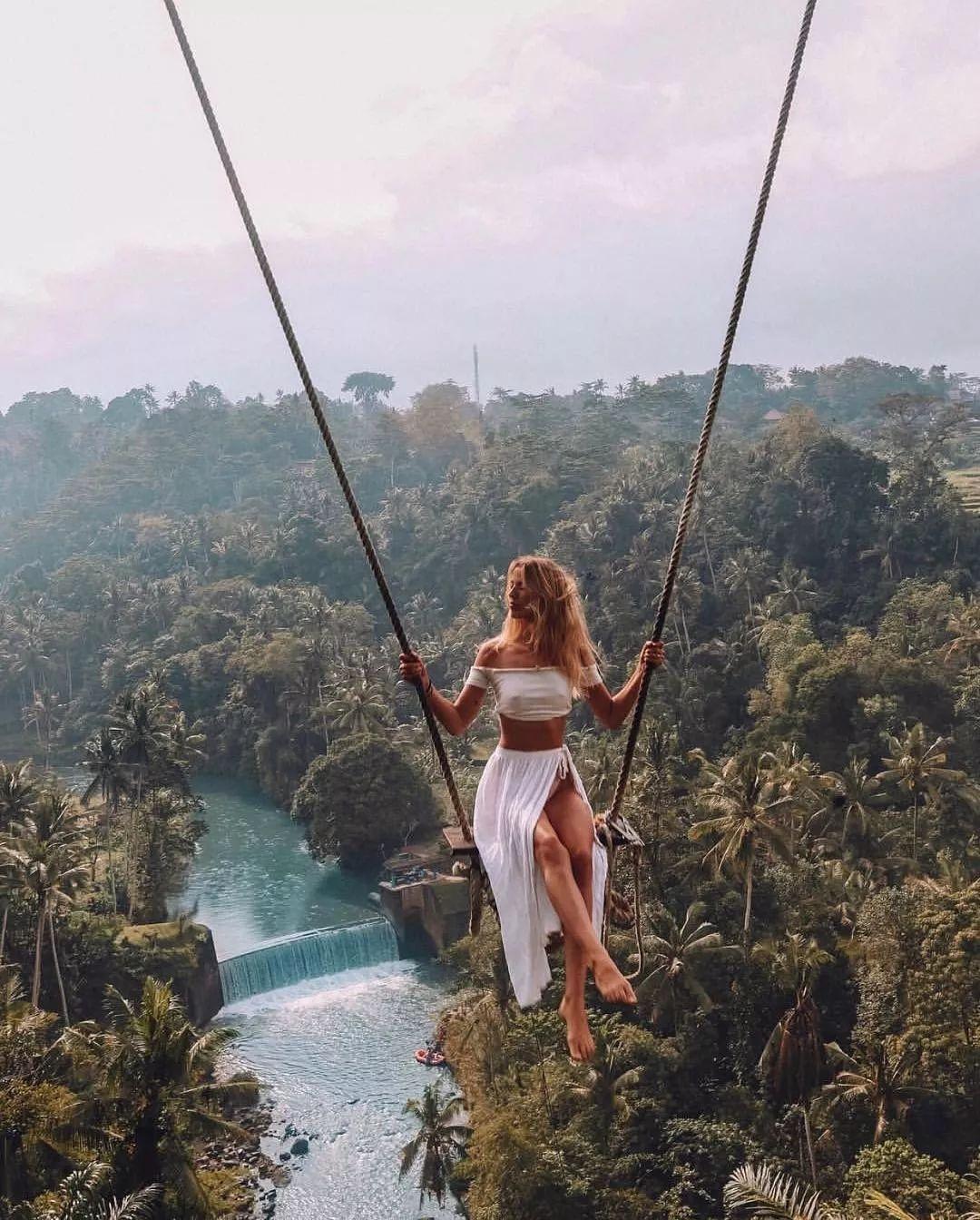 巴厘岛 bali swing 网红秋千