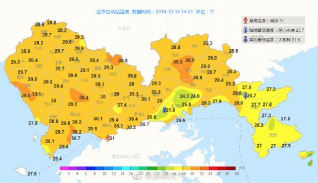"""台风""""浣熊""""加强为强热带风暴级!不过放心,对深圳没影响"""