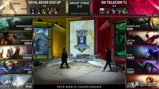 LOL-S9:双C团战输出爆表,SKT再次击败RNG豪取四连胜
