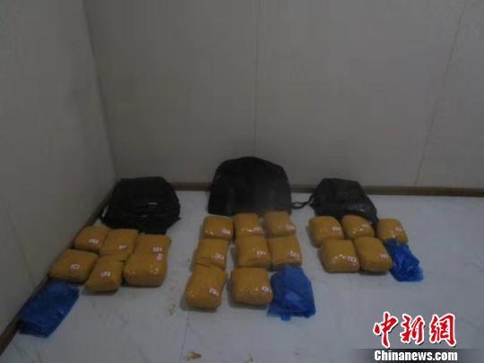 中缅边境云南清水河边检站破获3起毒品案缴毒逾219公斤