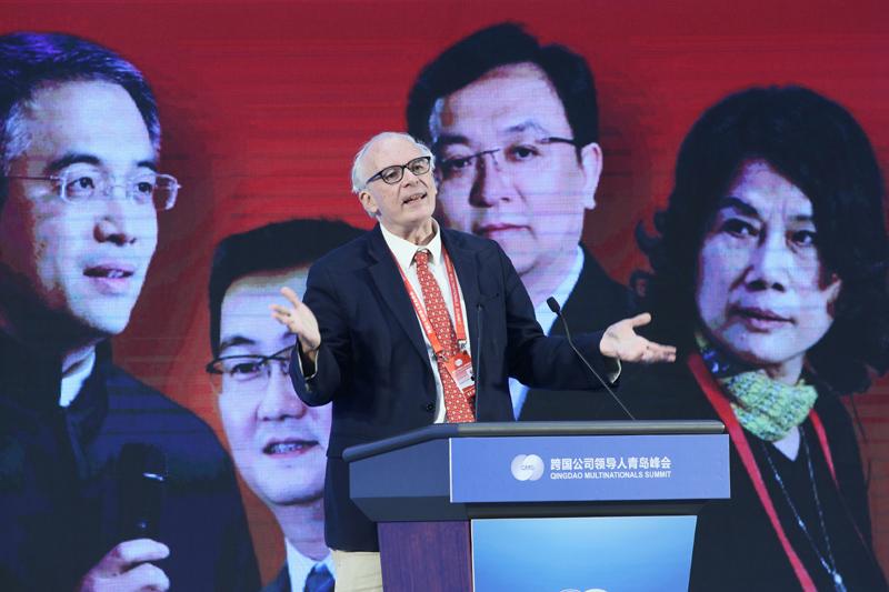 """福布斯范鲁贤解读""""中国企业跨国经营杰出领导人榜单"""""""