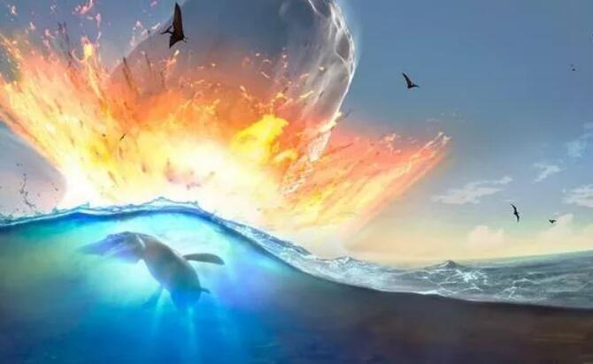 假如巨型小行星撞击大西洋会发生什么?最可怕的还不是海啸!