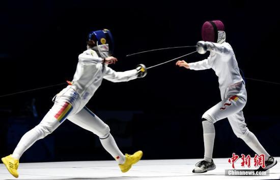 中国选手孙一文一剑封喉获军运会女子重剑个人赛冠军