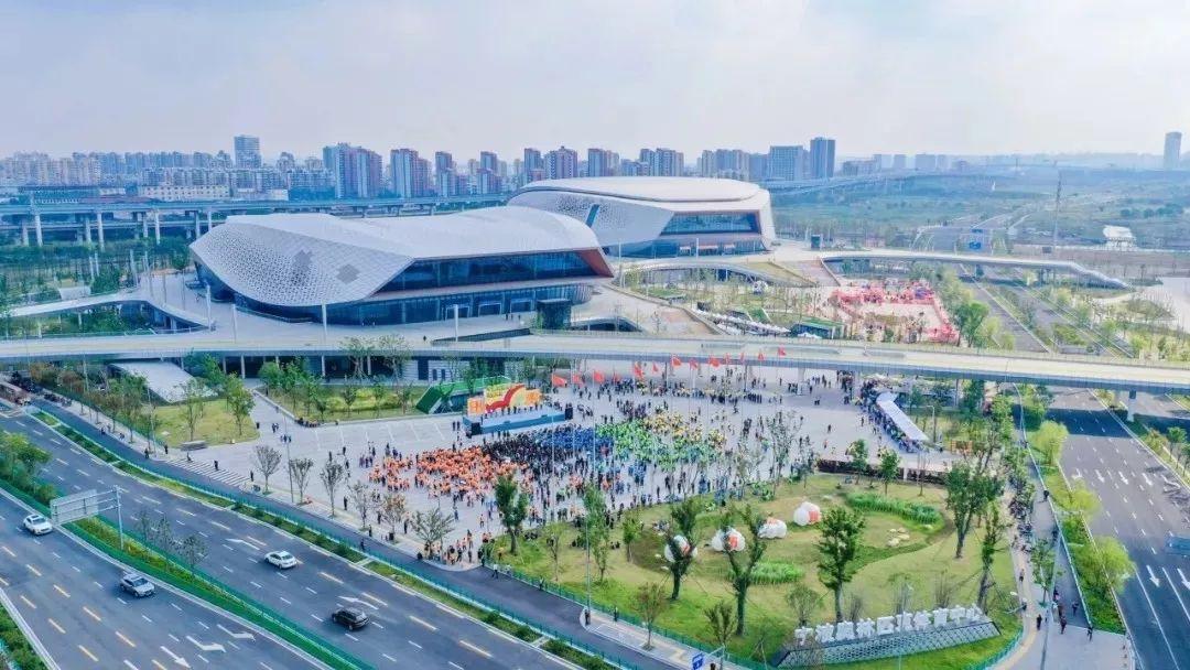 宁波奥体中心正式开业图片