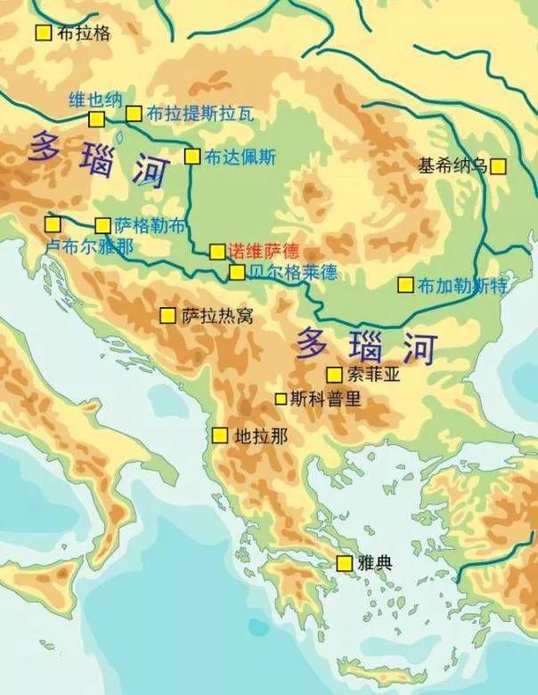 塞尔维亚人均gdp_盘点斯拉夫人建立的国家 巴尔干半岛的战斗民族塞尔维亚