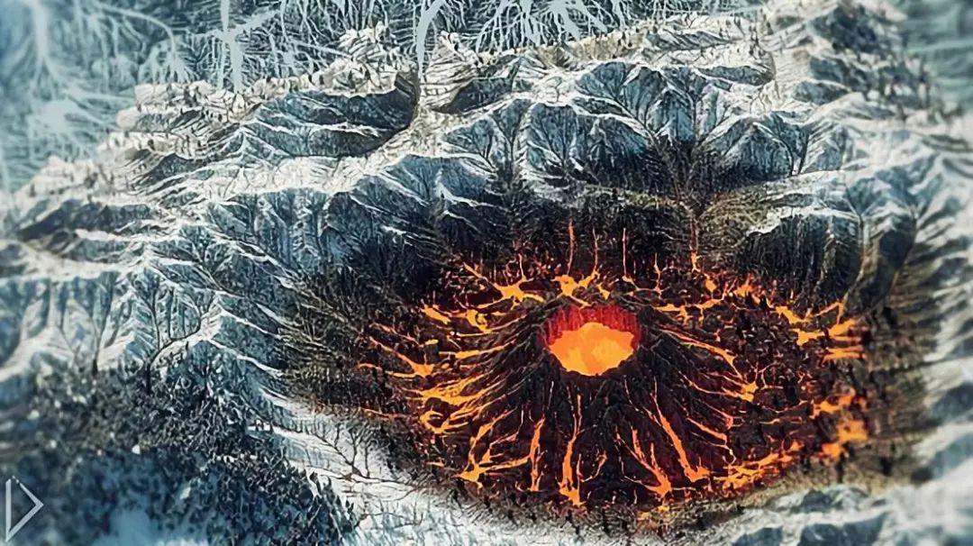 《我的世界》大神一比一还原奇幻地图一座火山占地面积50000平米