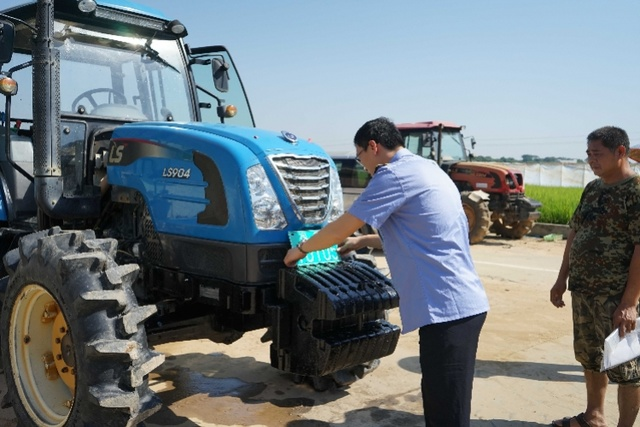 今年前三季度,广州市白云区发放农业机械补贴超40万