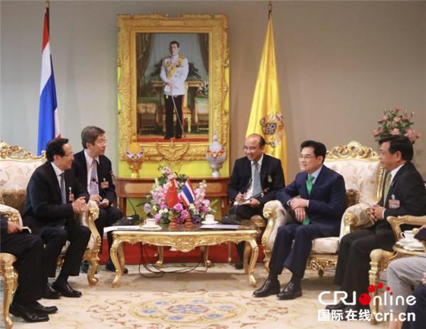 泰国副总理朱林会见中国农业农村部部长韩长赋中泰深化农业合作