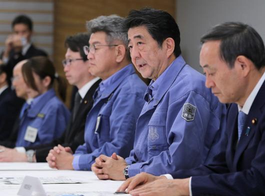 """台风""""海贝思""""致日本80人死安倍拟投3百多亿元重建灾区"""